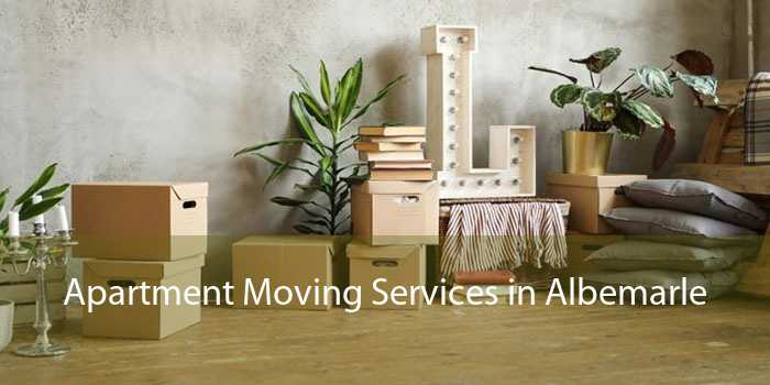 Apartment Moving Services in Albemarle