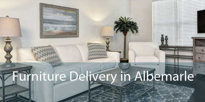Furniture Delivery in Albemarle