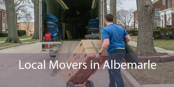 Local Movers in Albemarle