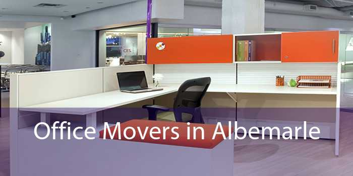 Office Movers in Albemarle