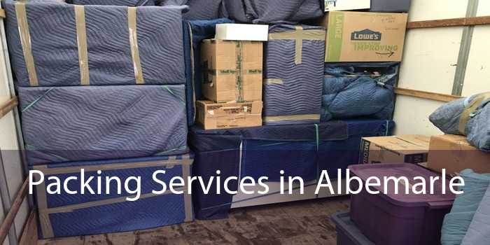Packing Services in Albemarle