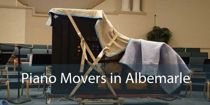 Piano Movers in Albemarle