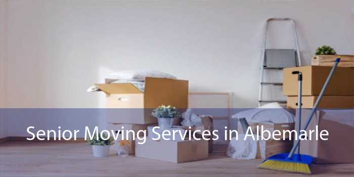 Senior Moving Services in Albemarle